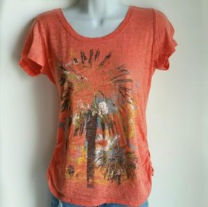 Maurices burnout palm tee